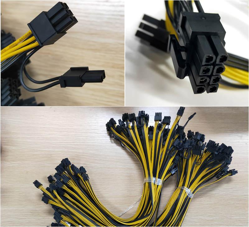 Cable de alimentación GPU Miner