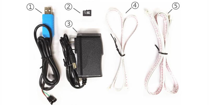 cable de datos de prueba