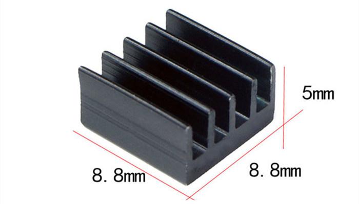 Disipador de calor para chip de placa de control