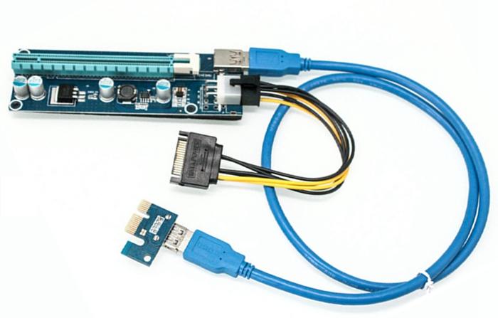 Tarjeta vertical PCI-E