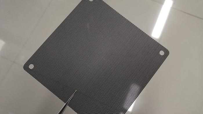 malla de filtro de polvo
