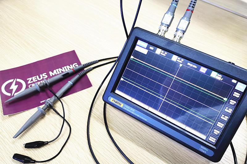 osciloscopio digital
