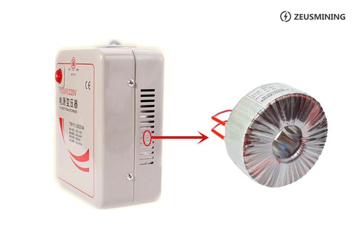 Mini transformadores de potencia 3000W