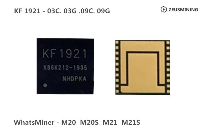 Chip KF1921 para whatsminer