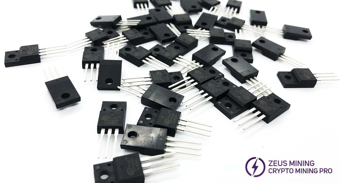 Recambio MOSFET SVF7N65F