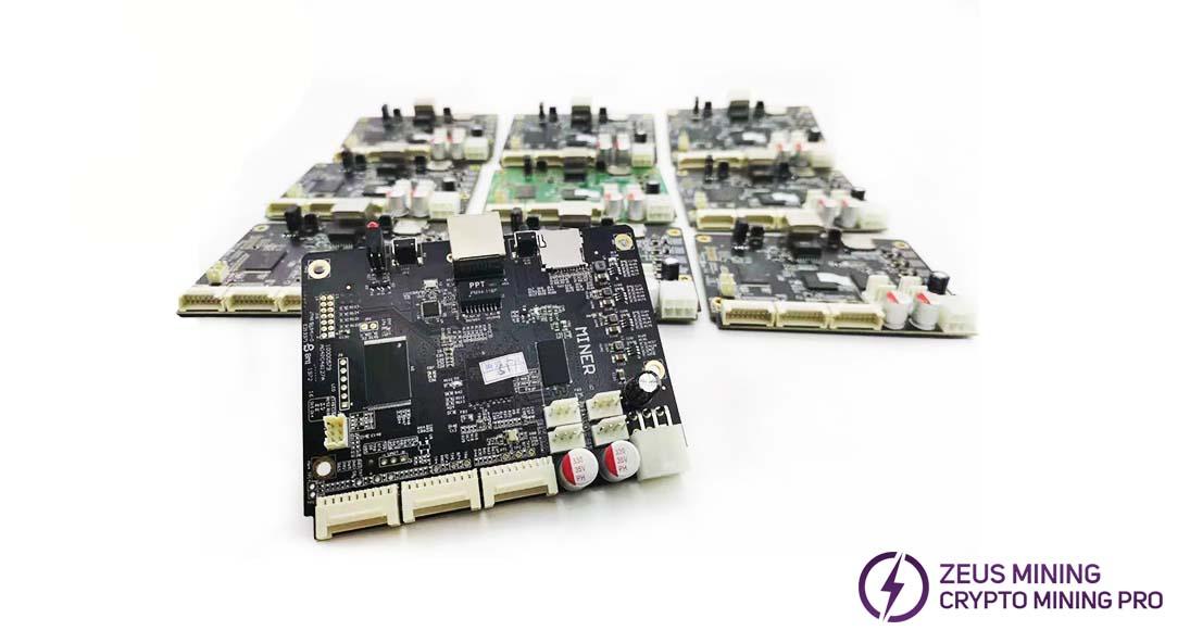 panel de control antminer para S17 S17Pro