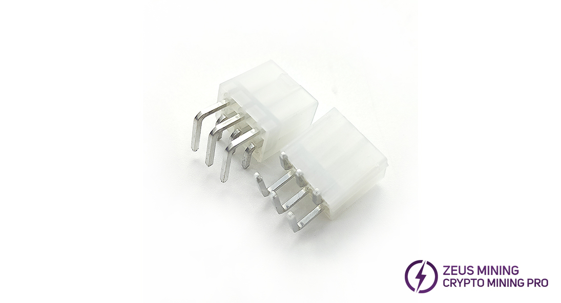 Reparación de piezas de tablero hash conector de alimentación
