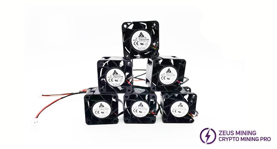 ventilador de refrigeración de la fuente de alimentación