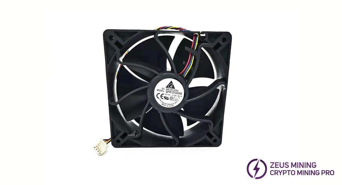Reparación de ventilador minero
