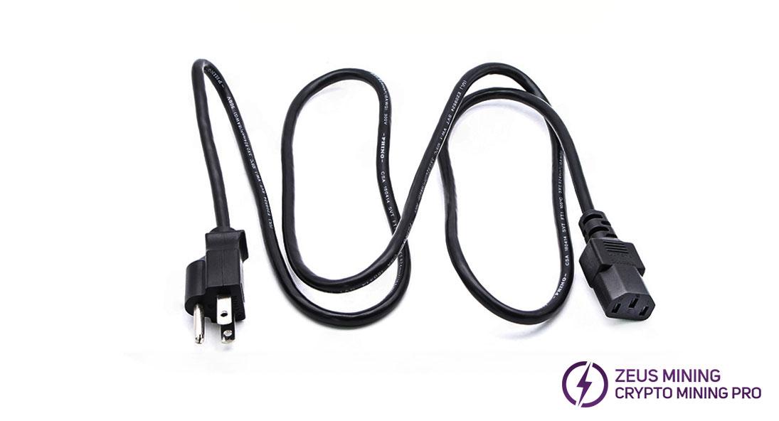 Cable de alimentación estándar americano de 2800 W