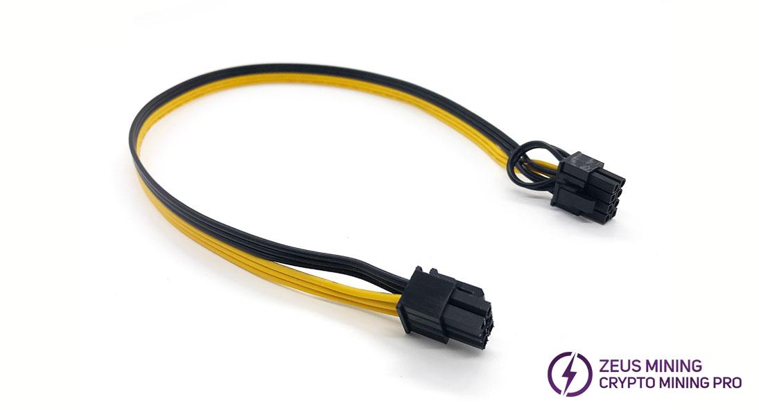 cable combinado de 6p-8p