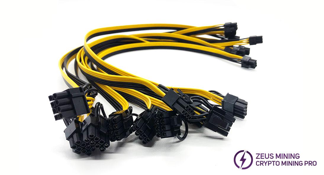 Cable de alimentación de 6p a 8p