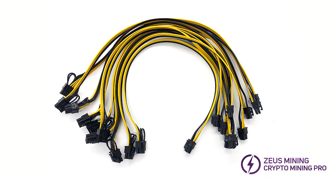 Cable adaptador de corriente 6P-8P