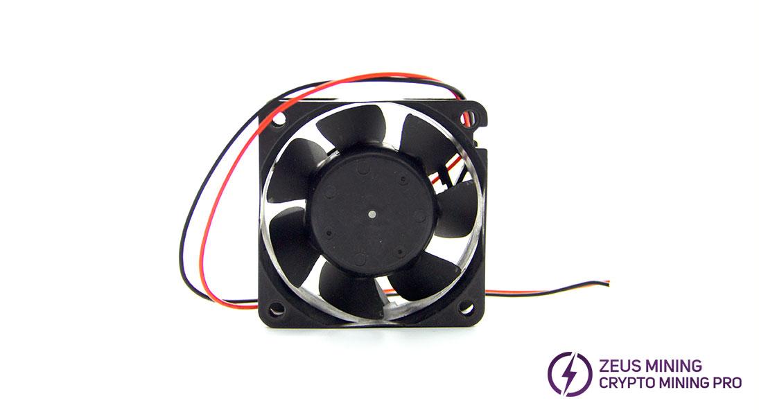 Dimensiones del ventilador de 6 cm