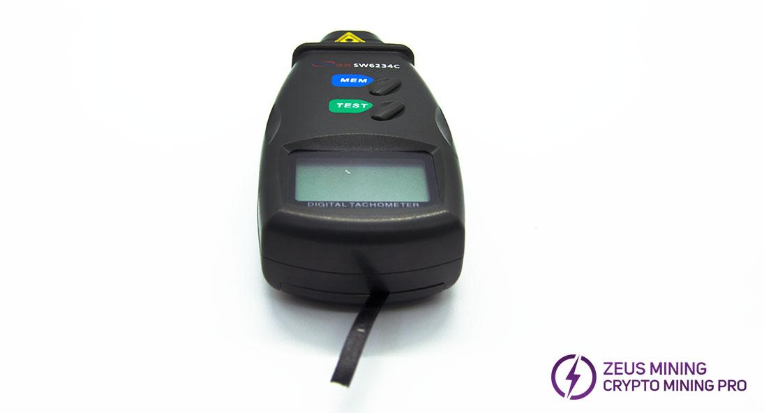 Tacómetro láser SW-6234C