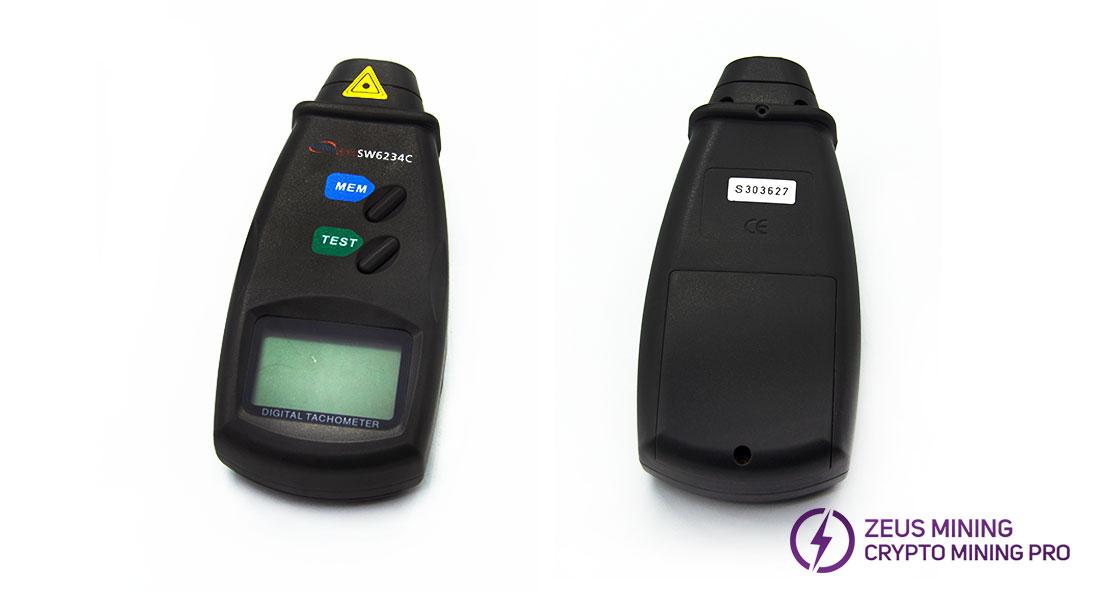 tacómetro láser sin contacto