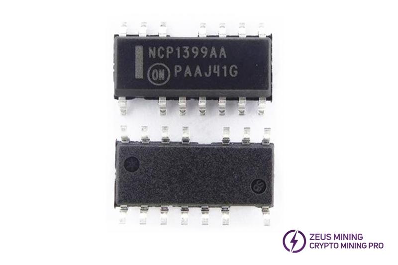 Chip NCP1399AA de 14 pines para placa hash
