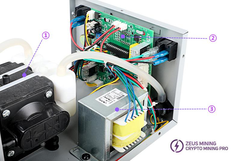 Estación desoldadora de temperatura ajustable 3102D