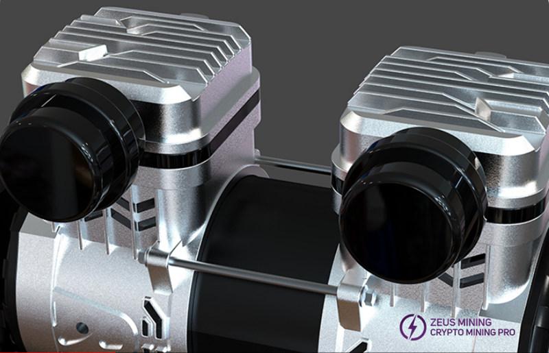 Compresor de aire de 1580W