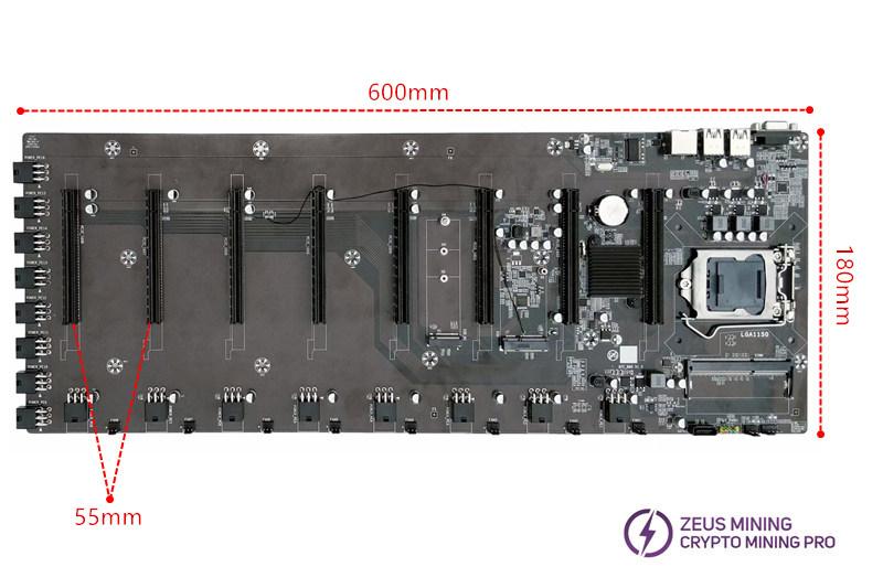 mejor placa base de minero GPU
