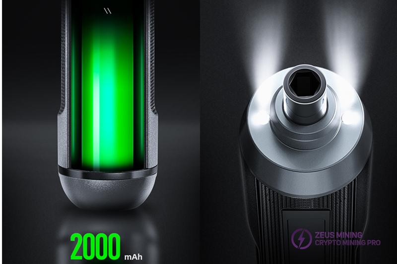 mejor destornillador eléctrico portátil Zeus mining