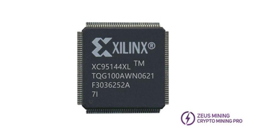 XC95144XL-7TQG100I