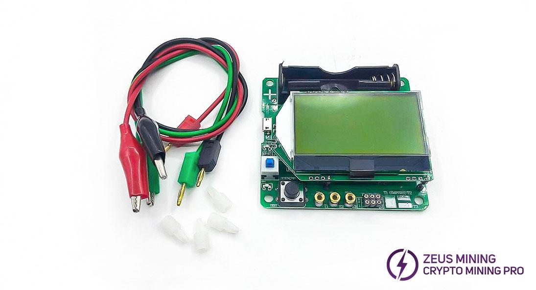 Probador de transistores de 3,7 V