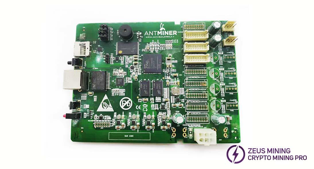 Reemplazo de la tablero de control del Antminer S9